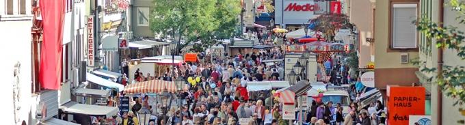 Verkaufsoffener Sonntag in Geislingen 2006
